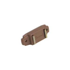 Amerock BP97653PT Magnetic Catch Bright Brass / Plastic Tan Finish