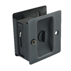 Sliding Door Lock Privacy Oil Rubbed Bronze