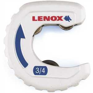 Lenox 14831TS34 TIGHT SPACES TUBING CUTTER, 3/4 IN. (19MM) White