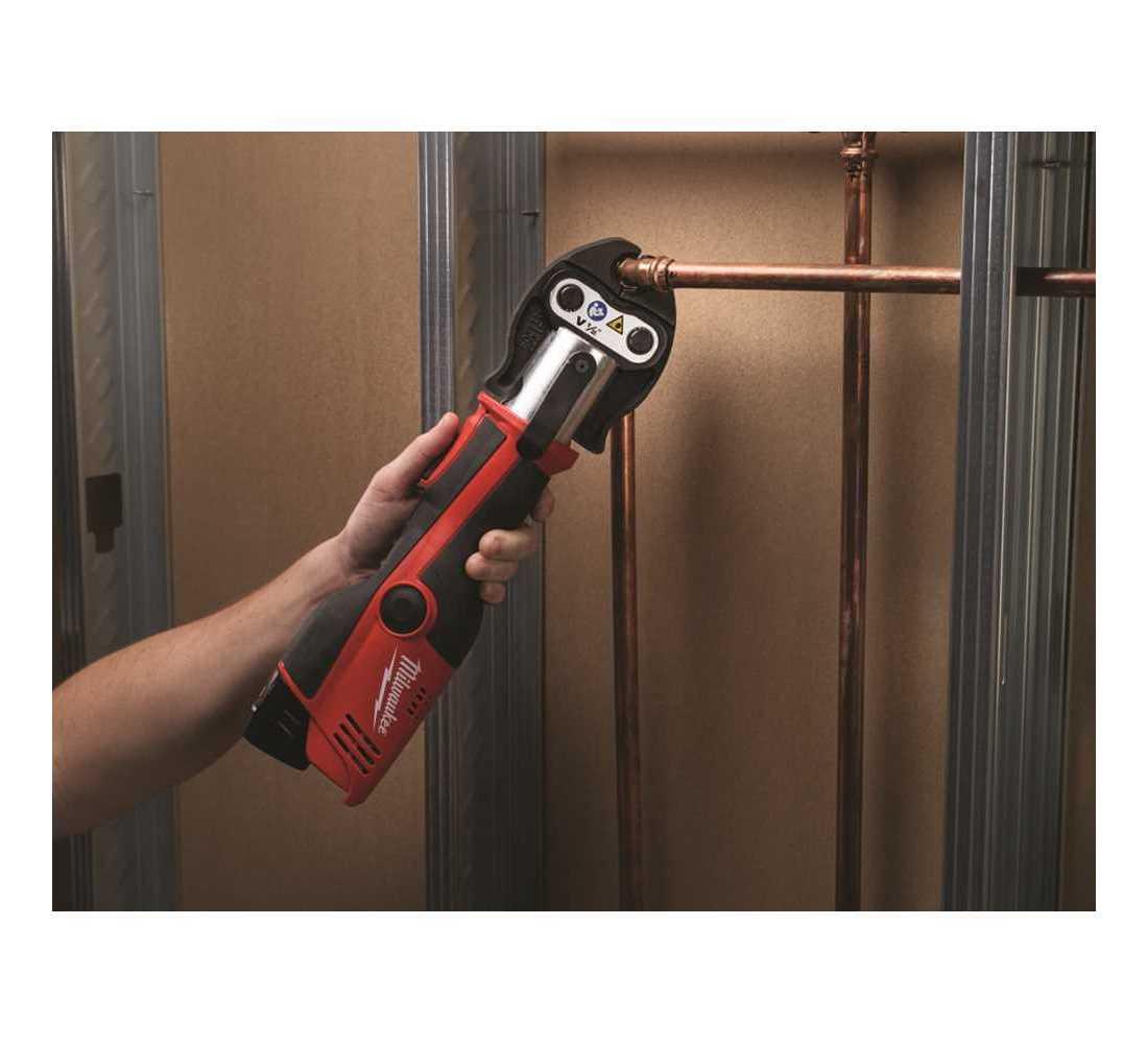Milwaukee 2473-22 M12 Li-Ion FORCE LOGIC Press Tool Kit New