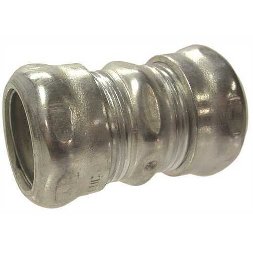 Insulated 2 Hubbell-Raco 2918RT Steel EMT Compression Connector Pack of 10 Rain Tight