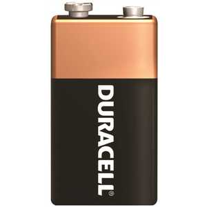 DURACELL MN1604BKD COPPERTOP BATTERY, 9 VOLTS Pack of 72