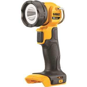 DEWALT DCL040 20-Volt Max Lithium-Ion LED Worklight Black, Yellow