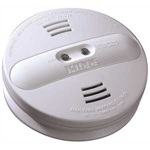 Kidde 21007915-N Hardwire Smoke Detector with 9V Battery Backup and Ionization/Photoelectric Dual Sensors