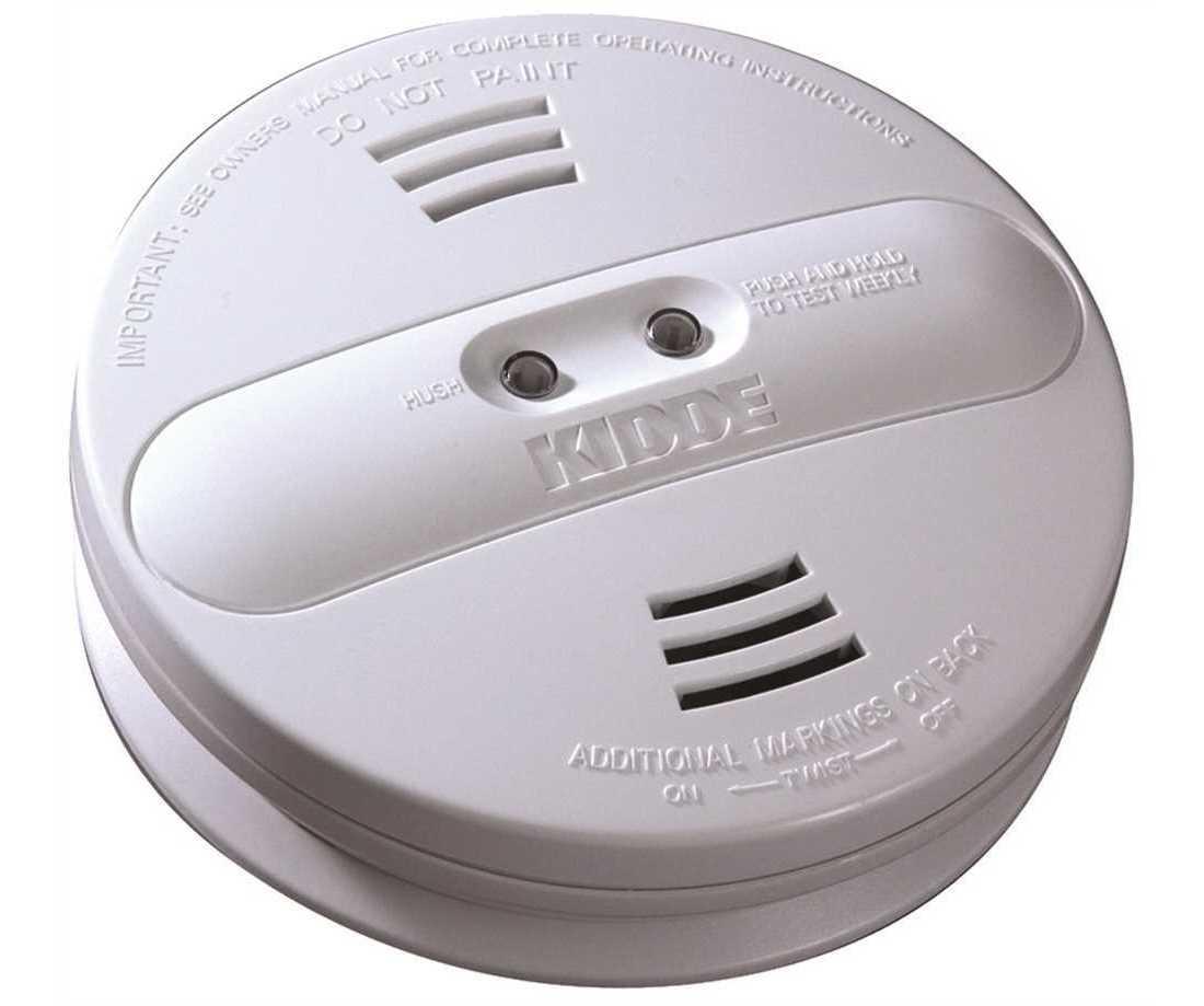 Kidde 21007915 N Hardwire Smoke Detector With 9v Battery