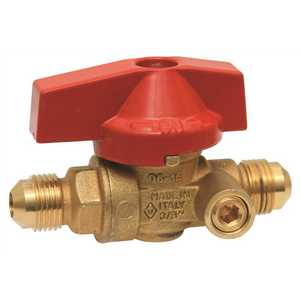 National Brand Alternative 96510007 1/2 in. Flare Side Tap Gas Ball Valve
