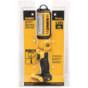 DEWALT DCL050 20-Volt MAX Lithium-Ion Cordless LED Hand Held Area Light (Tool-Only)