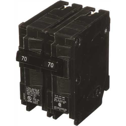 Siemens 70 Amp 2 Pole Circuit Breaker Type QP Model Q270