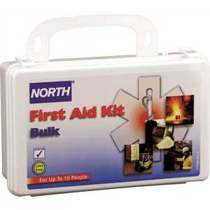 Honeywell Safety 019700-0001L North 10-Person Bulk First Aid Kit White