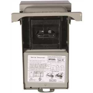 Siemens WF2060 60 Amp Fusible Outdoor AC Disconnect
