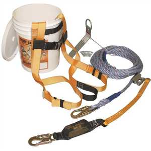 Miller TRK2000/50FT Fall Protection B-Compliant Roof Bucket Kit - 50 ft