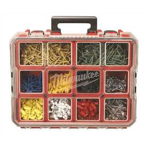 Milwaukee 48-22-8030 Packout 10-Compartment Small Parts Organizer Red