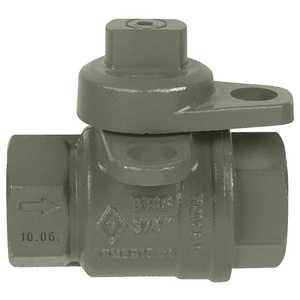 JOMAR INTERNATIONAL 240-004P 3/4 in. FIP Jomar Lockwing Utility Gas Meter Valve