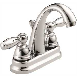 Peerless P299696LF 4 in. Centerset 2-Handle Bathroom Faucet in Chrome