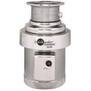 InSinkErator SS200-27 2 Hp Commercial Garbage Disposal Single phase