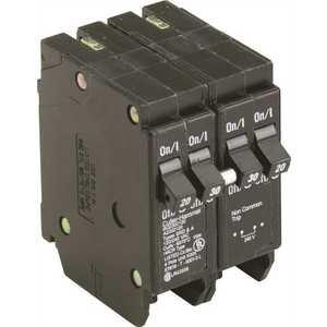 Eaton BQ2302120 BR 1-30 Amp 2 Pole and 2-20 Amp 1 Pole BQ (Independent Trip) Quad Circuit Breaker