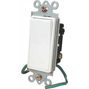 Preferred Industries 602026 DECO 4 WAY ROCKER SWITCH WHITE