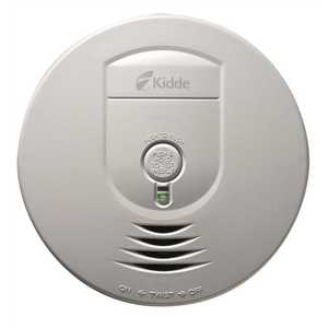 Kidde 1279-9999 Hardwire Smoke Detector with 9V Battery Backup and Wire-Free Interconnect