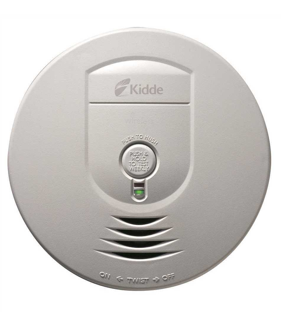 Kidde 1279 9999 Hardwire Smoke Detector With 9v Battery Backup