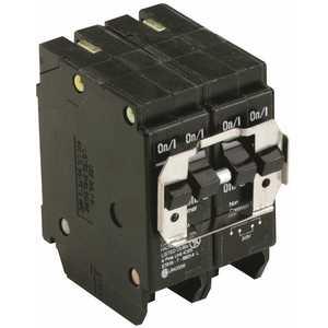 Eaton BQ230250 BR 1-30 Amp 2 Pole and 1-50 Amp 2 Pole BQ (Independent Trip) Quad Circuit Breaker