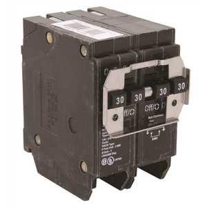 Eaton BQ230230 BR 2-30 Amp 2 Pole BQ (Independent Trip) Quad Circuit Breaker
