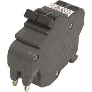 2-Pole Federal Pacific Stab-Lok NC250 Replacement Cir New UBIF Thin 50 Amp 1 in