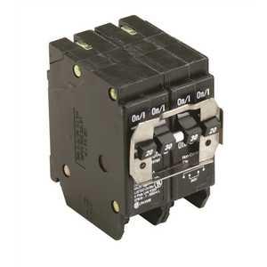 Eaton BQ220230 BR 1-20 Amp 2 Pole and 1-30 Amp 2 Pole BQ (Independent Trip) Quad Circuit Breaker