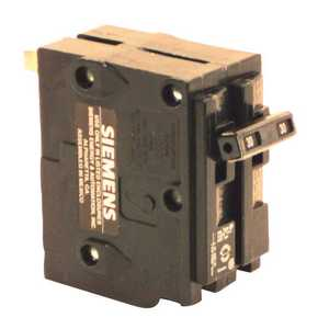 Siemens BQD230 30 Amp Double-Pole Type BQD Bolt-On Circuit Breaker Black
