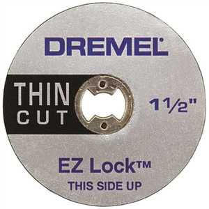 Dremel EZ409 EZ Lock 1-1/2 in. Thin Metal Cut Off Rotary Wheel