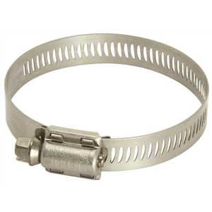 Breeze Clamp 63012 MARINE GRADE HOSE CLAMP, STAINLESS STEEL, 11/16 IN. TO 1-1/4 IN - pack of 10