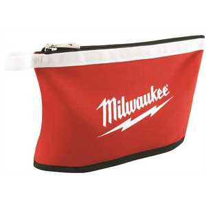 Milwaukee 48-22-8193 12 in. Zipper Tool Bag in Multi-Color Red Pack of 3