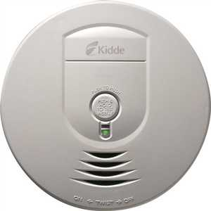 Kidde 0919-9999 Battery Operated Smoke Detector with Wire-Free Interconnect