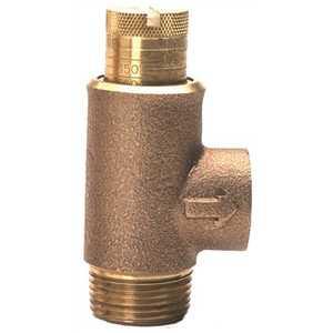 Zurn 12-P1500XL 1/2 in. MNPT x 1/2 in. FNPT Calibrated Pressure Relief Valve