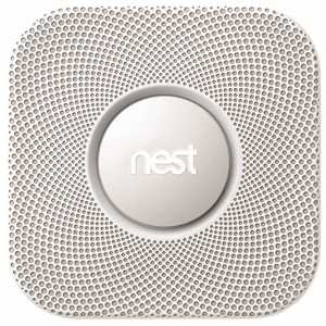 Nest S3004PWBUS Protect Smoke and Carbon Monoxide Alarm Detector with Battery