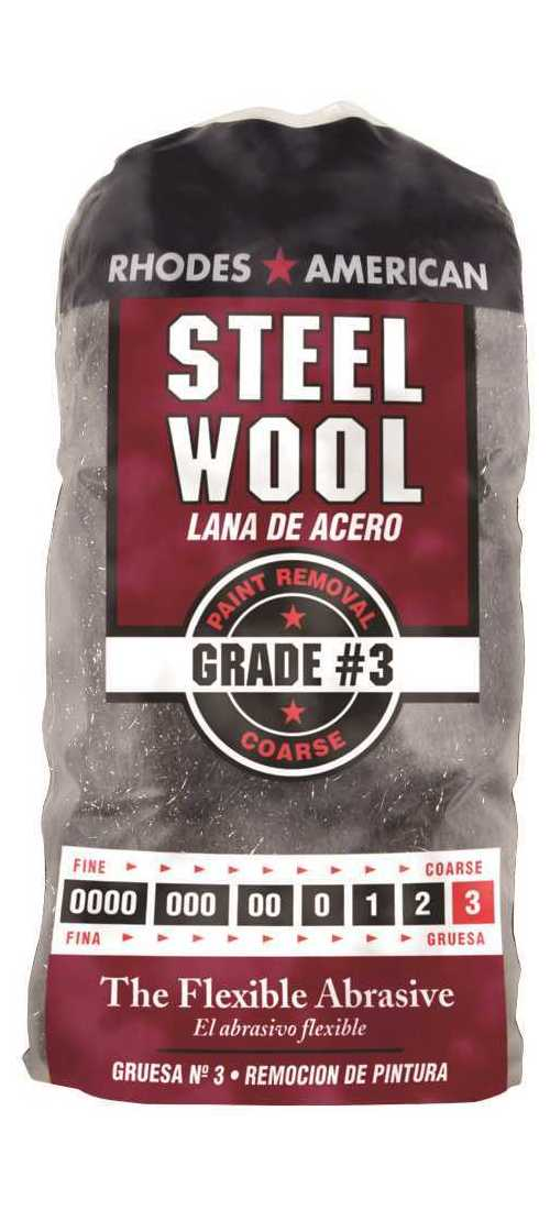 Medium Coarse Grade Homax 10121112-6#2 12 Pad Steel Wool