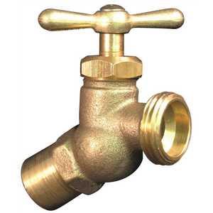 Proplus 262114 Brass Hose Bibb No Kink 1/2 in. or 3/4 in. Sweat