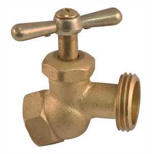 Proplus 262250 Brass Hose Bibb 1/2 in. FIP
