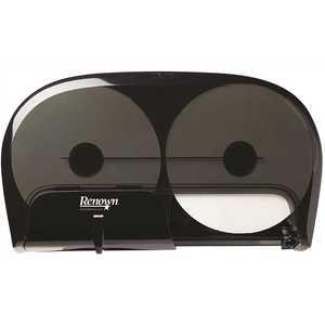 Renown REN06165-WB Black for OptiCore High-Capacity Toilet Paper Dispenser