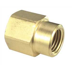Sioux Chief 930-13161001 3/8 in. x 1/4 in. Lead-Free Brass FPT x FPT Coupling