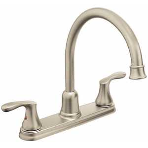 Cleveland Faucet Group 40617CSL Cornerstone 2-Handle High Arc Kitchen Faucet in Classic Stainless