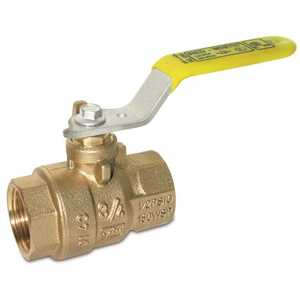 RED-WHITE VALVE 5544AB  3/4 BALL VALVE, 3/4 IN. FIP, LEAD FREE