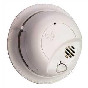 BRK Brands 9120B Brands 120-Volt Hardwire, Ionization Sensor Smoke Alarm Detector Perfect Mount with Battery Backup