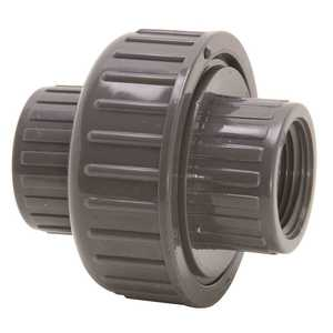 PROLINE 164-105 1 in. FPT x FPT Gray PVC Union