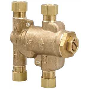 Watts 3/8 LFUSG-B M2 3/8 in. Lead Free Thermostatic Mixing Valve