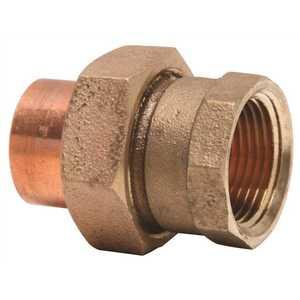 Mueller Streamline A 11424NL 1 in. Copper FIP x Copper Union