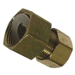 Sioux Chief 907-47161001 1/2 in. x 3/8 in. Brass Female Compression x Compression Adapter