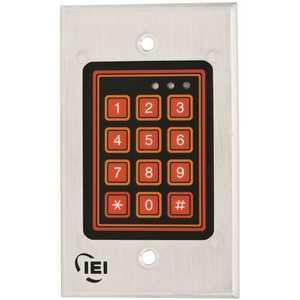 INTERNATIONAL ELECTRONICS 0-211222 IEI DOOR-GARD WEATHER-RESISTANT KEYPAD SYSTEM