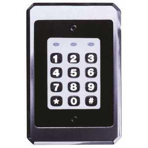 INTERNATIONAL ELECTRONICS 0-230722 IEI DOOR-GARD ILLUMINATED ON-OFF WEATHERPROOF KEYPAD