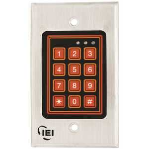 INTERNATIONAL ELECTRONICS 0-213222 IEI WEATHER-RESISTANT KEYPAD SYSTEM, 120 USER