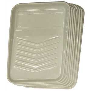 PRIVATE BRAND UNBRANDED HD RM 9110 9 in. Plastic Tray Liner - pack of 10